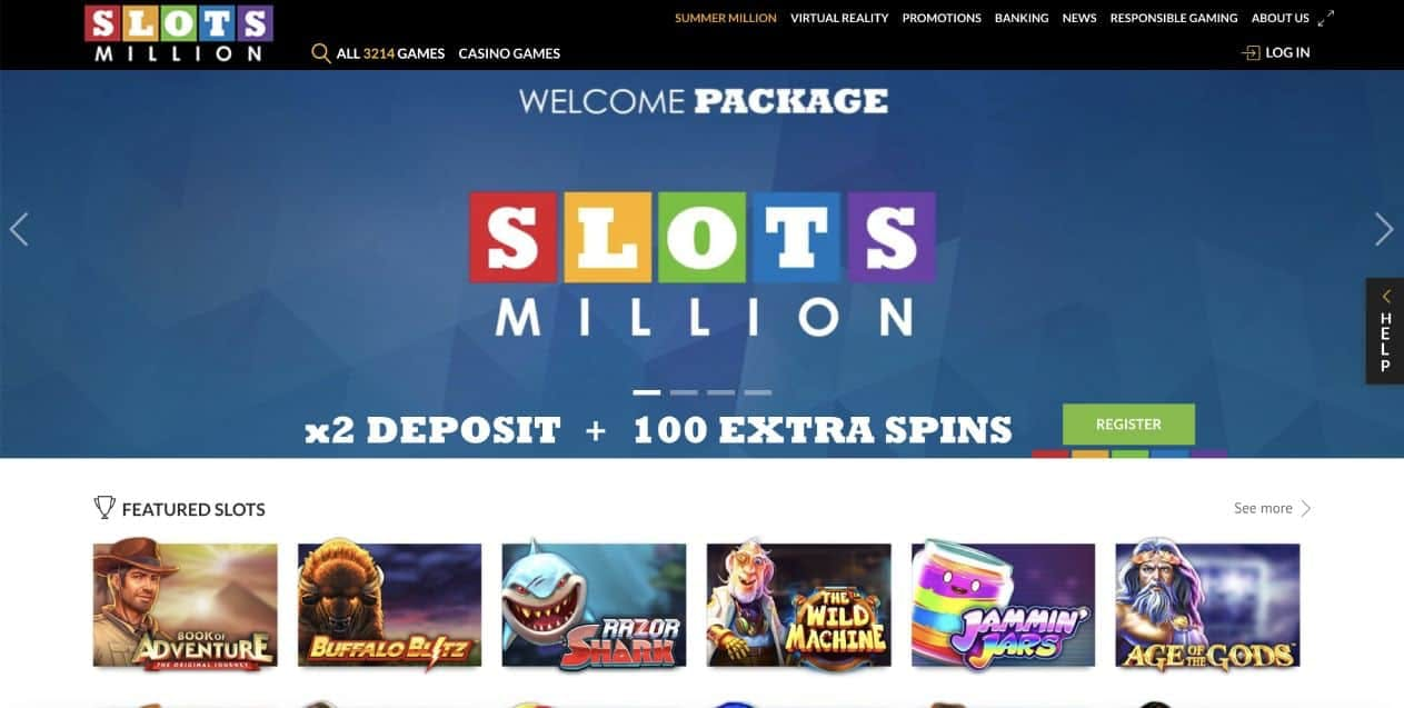 Slotsmillion #1
